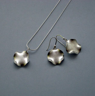 waves silver jewellery